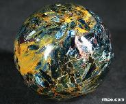"2.1"" Pietersite Sphere, Crystal Ball"