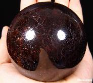 "2.8"" Garnet Sphere, Crystal Ball"