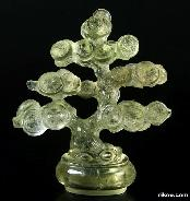 "4.1"" Citrine Carved Crystal Money Tree"