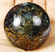 "Gemstone 1.8"" Pietersite Sphere, Crystal Ball"