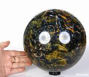 "7.7"" New Pietersite Sphere Crystal Ball"
