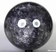 "Titan 9.3"" Gray Quartz Sphere, Crystal Ball"
