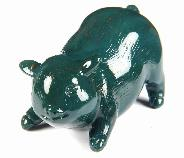 "2.7"" Classic Bloodstone Crystal Pig"