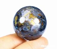 "GEMSTONE 1.4"" Pietersite Crystal Ball"