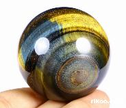 "2.0"" Blue Tiger Eye Crystal Ball"