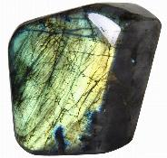 "AMAZING FLASH 5.2"" Labradorite Polished Gemstone"