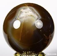 "2.0"" Agate Sphere, Crystal Ball"