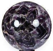 "HUGE 5.1"" Amethyst Sphere, Crystal Ball"