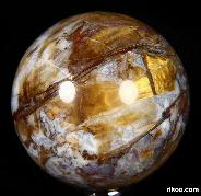 "Gemstone 2.1"" Pietersite Sphere, Crystal Ball"