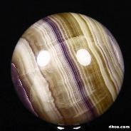 "2.0"" Fluorite Sphere, Crystal Ball"