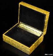 "Gemstone Huge 4.1"" Ocean Jasper Carved Crystal Jewelry Box"