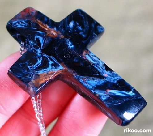 Pietersite Cross Pendant