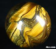 "1.9"" Tiger Iron Eye/Tiger's Iron Eye/tigereye Sphere, Crystal Ball"