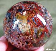 "3.0"" Pietersite Sphere, Crystal Ball, Chatoyant,Gemstone"