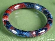 Pietersite Carved Crystal Bangle/Bracelet, Chatoyant,Gemstone