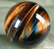 "2.1"" Tiger Eye/Tiger's Eye/tigereye Sphere, Crystal Ball,Chatoyant,Gemstone"