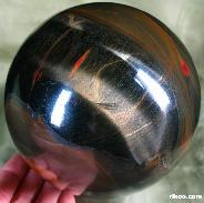 "STUNNING BIGGER 4.7"" Tiger's Eye/tigereye Sphere, Crystal Ball, Gemstone"