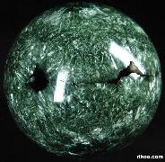 "STUNNING 4.6"" Seraphinite Sphere, Crystal Ball, Gemstone"