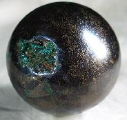 "Huge 3.0"" Covellite Sphere, Crystal Ball, Gemstone"