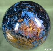 Huge 89mm Pietersite Sphere, Crystal Ball,Chatoyant,Gemstone