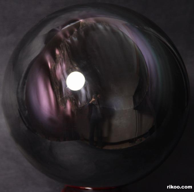 Rainbow Obsidian Crystal Ball
