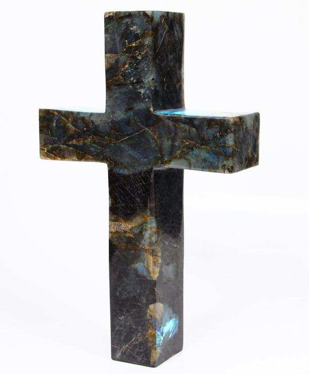 Labradorite Cross