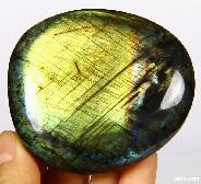 "AMAZING FLASH 2.7"" Labradorite Polished Gemstone"