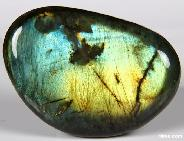 "AMAZING FLASH HUGE 3.8"" Labradorite Polished Gemstone"