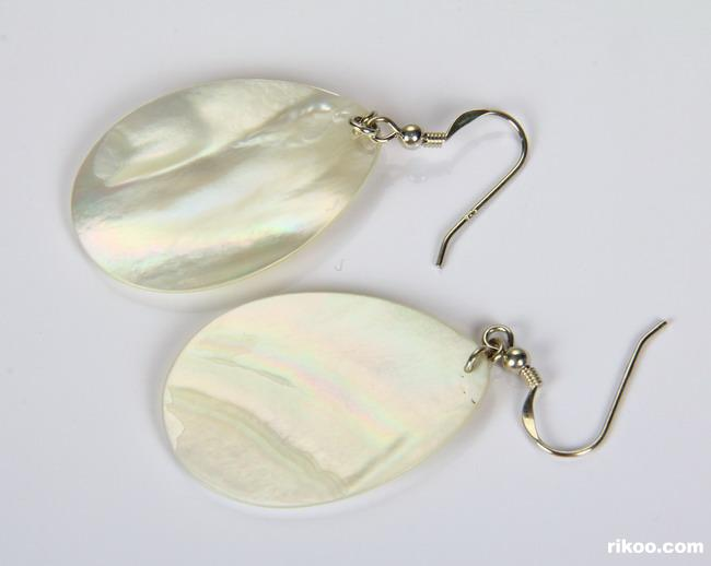 Shell Crystal Earrings