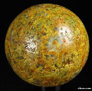 "2.4"" Orpiment Sphere, Crystal Ball"