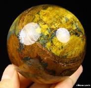 "Gemstone 2.3"" New pietersite Sphere Crystal Ball"