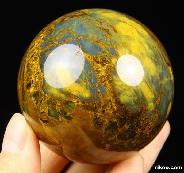 "2.2"" New pietersite Sphere Crystal Ball"