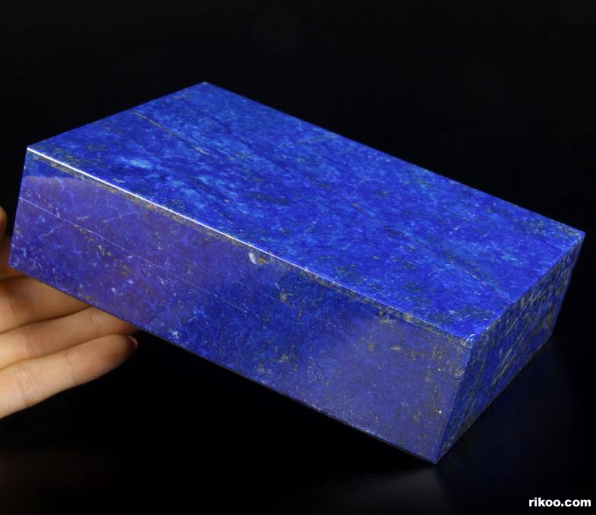 Lapis Lazuli Crystal Jewelry Box, Gemstone BOX
