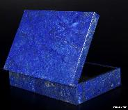 "GEMSTONE 6.1"" Lapis Lazuli Crystal Jewelry Box, Gemstone BOX"