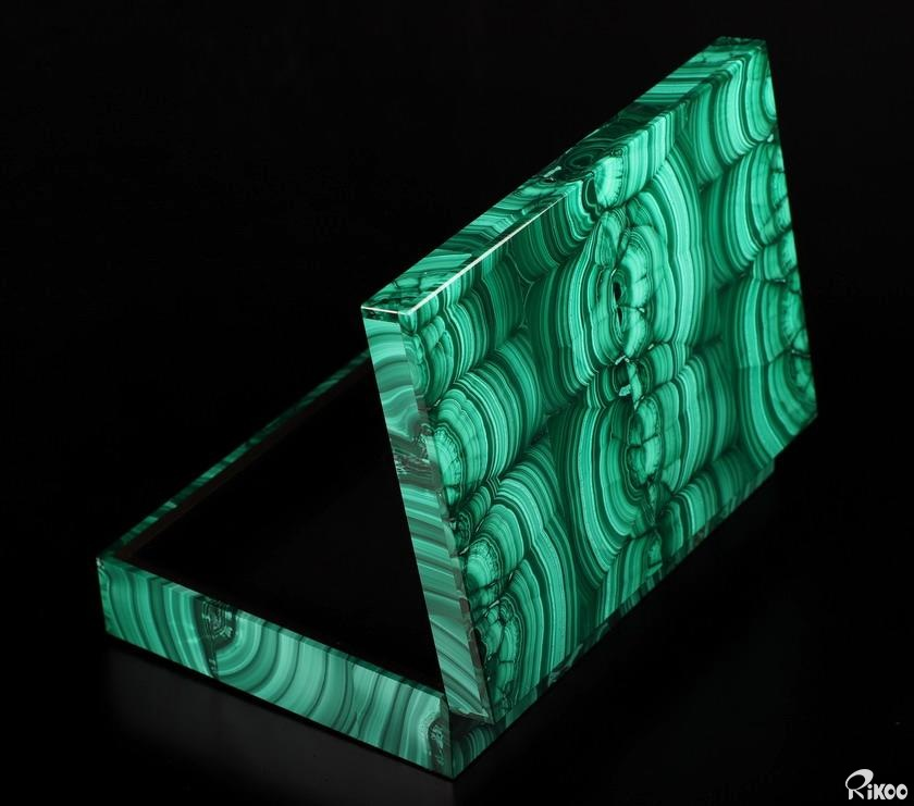Malachite Crystal Jewelry Box