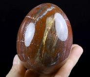 "3.0"" Petrified Wood Crystal Ball, Crystal Healing"