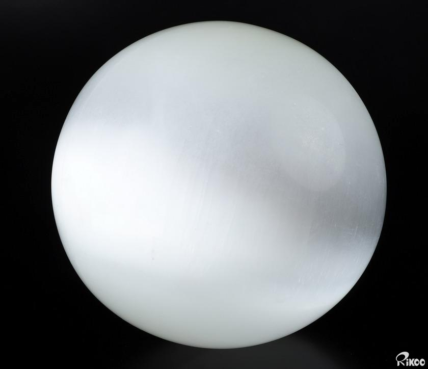 Selenite Crystal Ball, Sphere