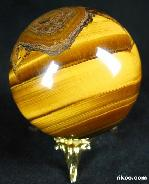 "2.1"" Tiger Iron Eye/Tiger's Iron Eye/tigereye Sphere, Crystal Ball"