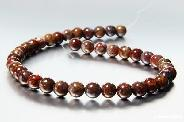 "length 16.1"" Pietersite Carved Beads String"