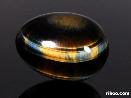 Blue & Gold Tiger Eye Crystal Egg