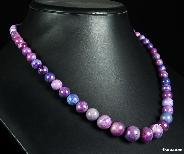 Gemstone Sugilite Crystal Necklace/pendant
