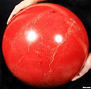 "Titan 15.7"" Red Jasper Sphere, Crystal Ball"