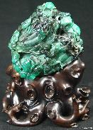 STUNNING Emerald Sculpture,Gemstone