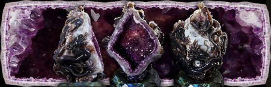 The MOST IMPRESSIVE Masterpiece: Four Dragons Amethyst Geode
